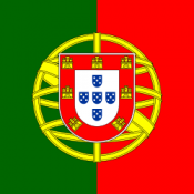 Flag of Portugal (square, 150px thumbnail)