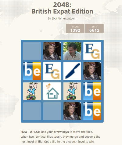 2048 - British Expat Edition