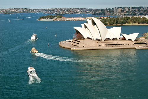 Sydney Harbour and the Opera House
