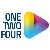 ONE TWO FOUR logo