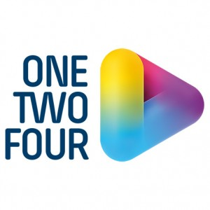 ONE TWO FOUR logo