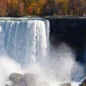 The American Falls at Niagara in autumn
