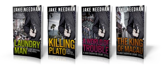 Jake Needham's Jack Shepherd series