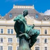 """""""Providentia"""" fountain in Vienna by Georg Raphael Donner"""