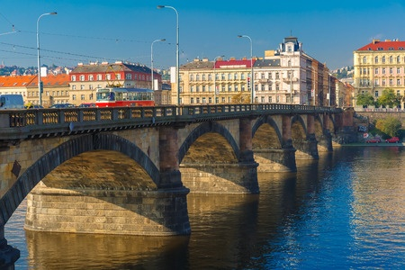 Palacký Bridge, Prague, Czech Republic