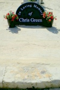Grave of Chris Green on Gozo