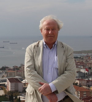 Writer Ken Barrett in Turkey