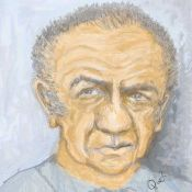 Caricature of Sid James