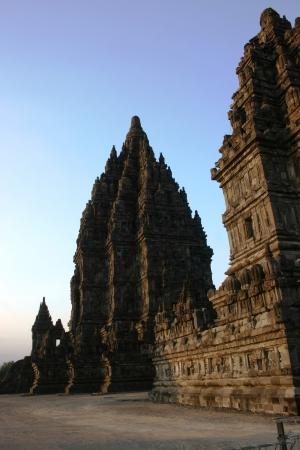 Prambanan Temple in Yogyakarta on Java, Indonesia