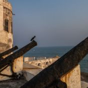 Cannon at Cape Coast Castle, Ghana