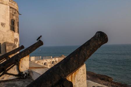 Cannon at Cape Coast Castle, Ghana