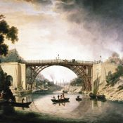 """The Iron Bridge"" by William Williams"