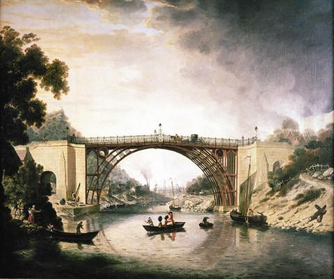 """""""The Iron Bridge"""" by William Williams"""